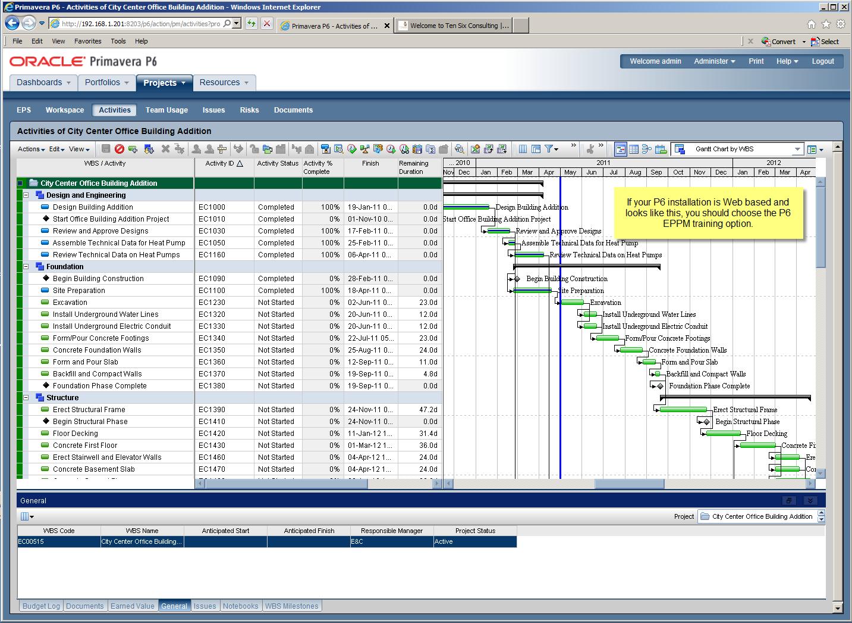 Primavera P6 Software Full