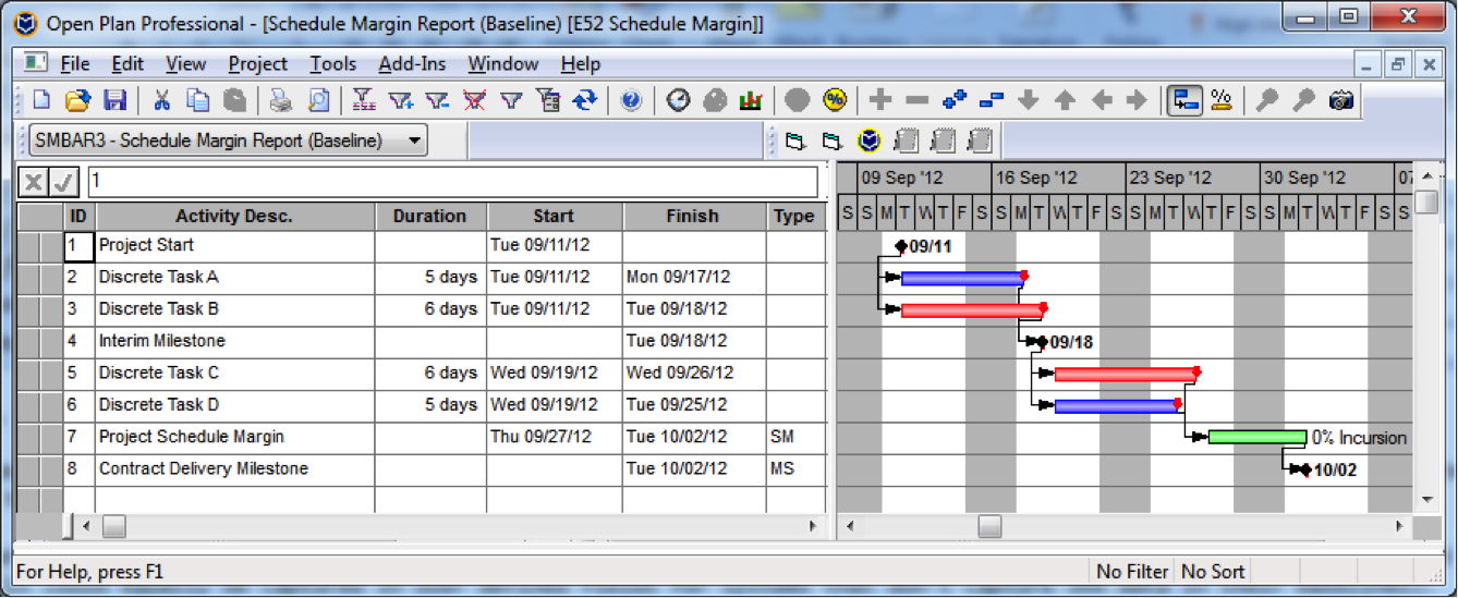 Schedule Margin2