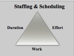 Fig 1 Staffing & Scheduling