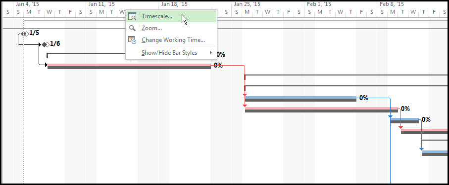 Baseline in Microsoft Project 2013Fig 8