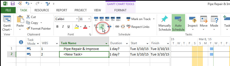 Microsoft Project Top-Down Fig 4