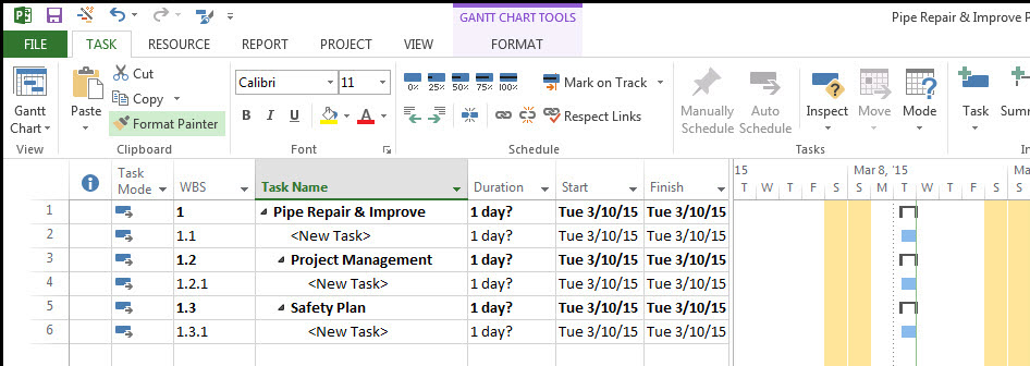 Microsoft Project Top-Down Fig 9