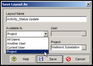 Exporting and Importing Layouts in P6 Fig 3