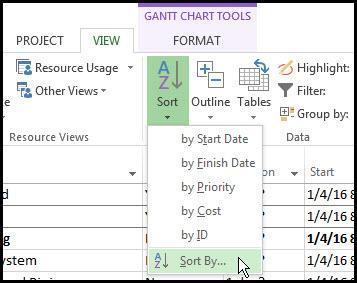 Microsoft Project Custom Fields Fig 18