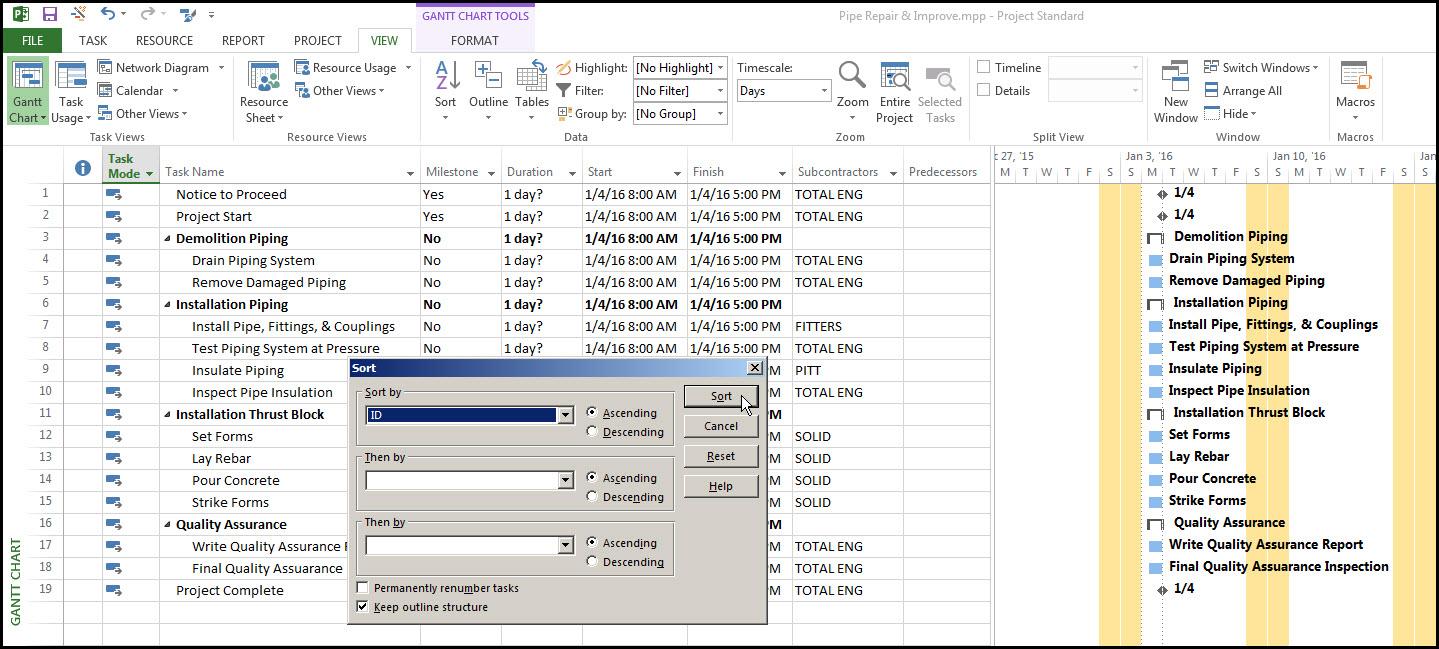 Microsoft Project Custom Fields Fig 21