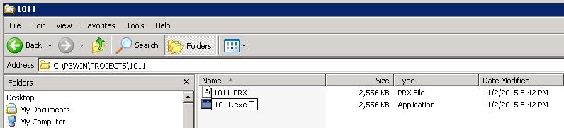 P3PRX FIles Import