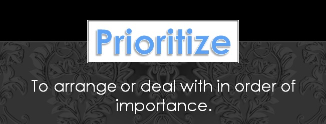 5 Tips for Project Prioritization