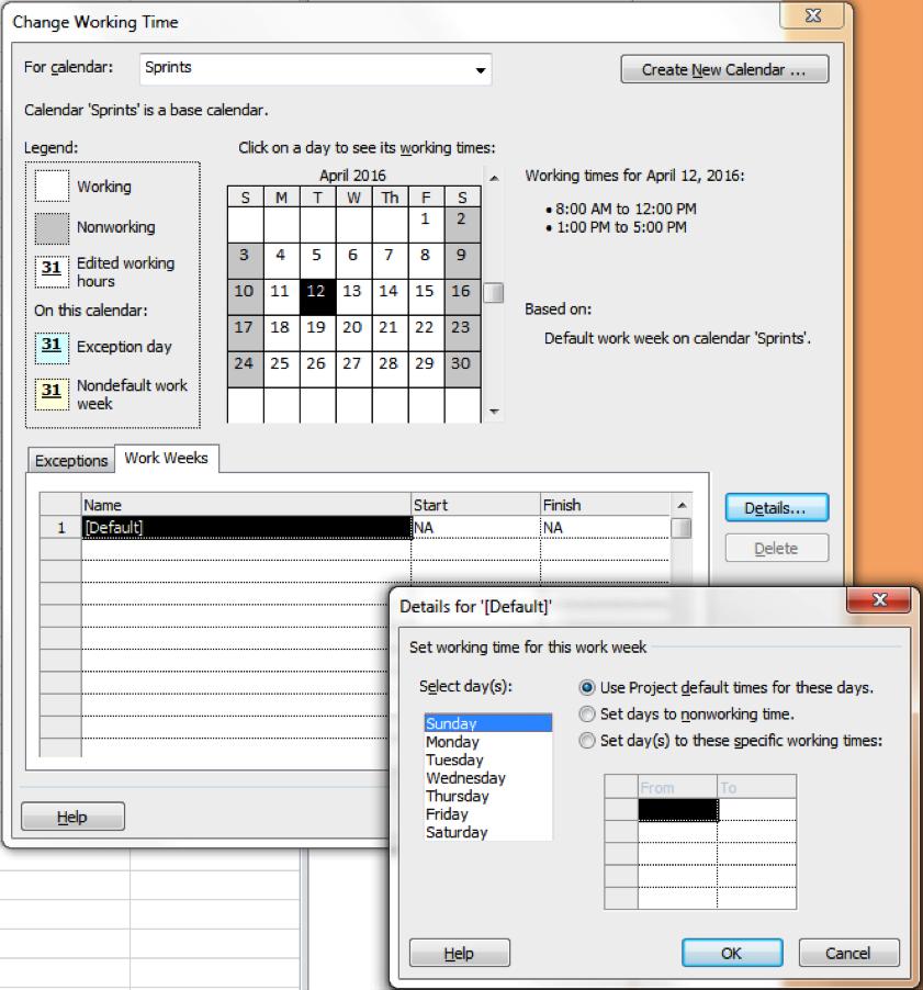 Microsoft Project Sprint Fig 3