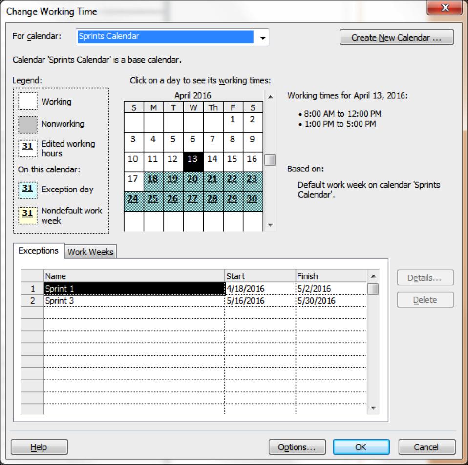 Microsoft Project Sprint Fig 4