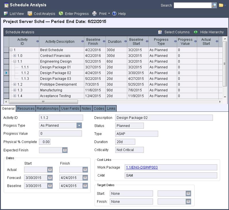 Project Server Integration