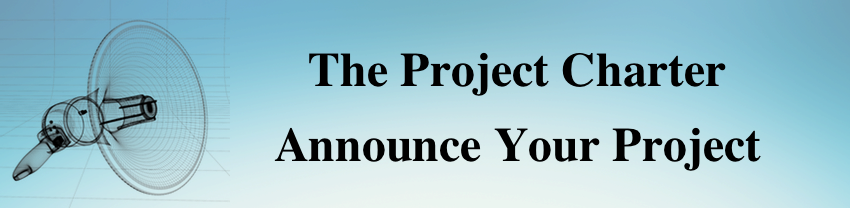 Project Charter - Announce Your Project