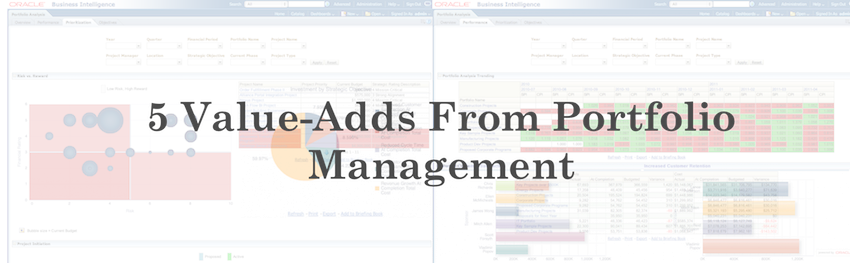 5 Value-Adds From Portfolio Management