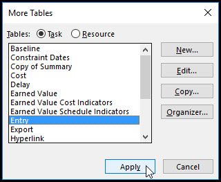 Microsoft Project Row Height Adjustment Quick Tip 6