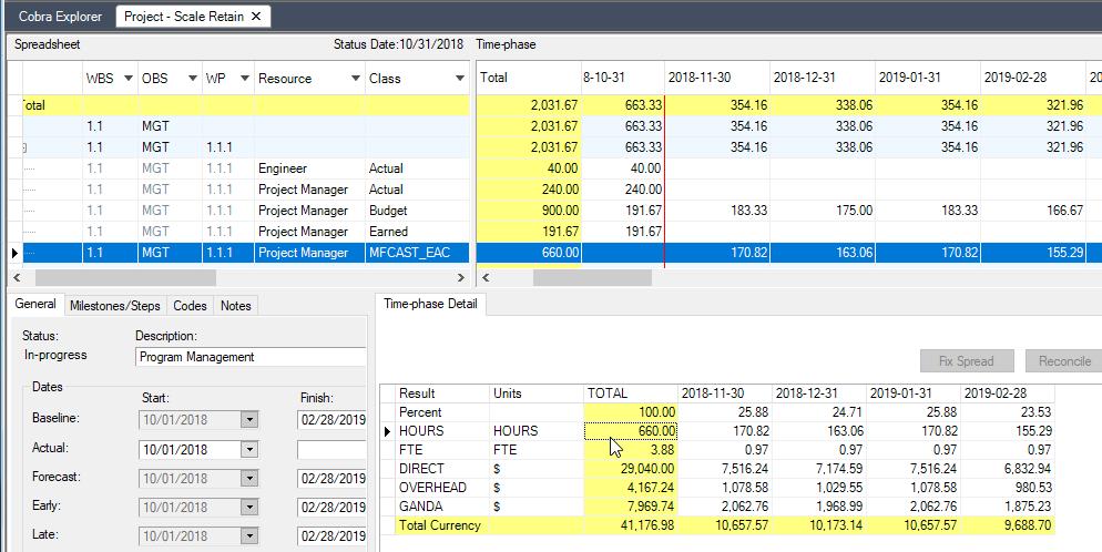 Deltek Cobra ETCs for the Project Manager