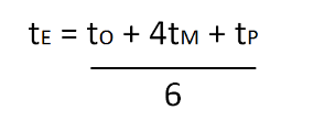 3 point estimate