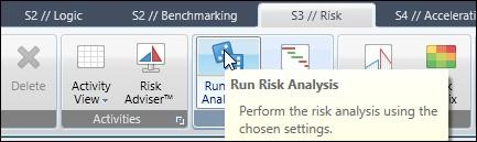 run the risk analysis