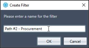 Acumen Create Filter