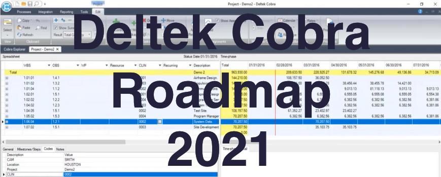 Deltek Cobra Roadmap 2021