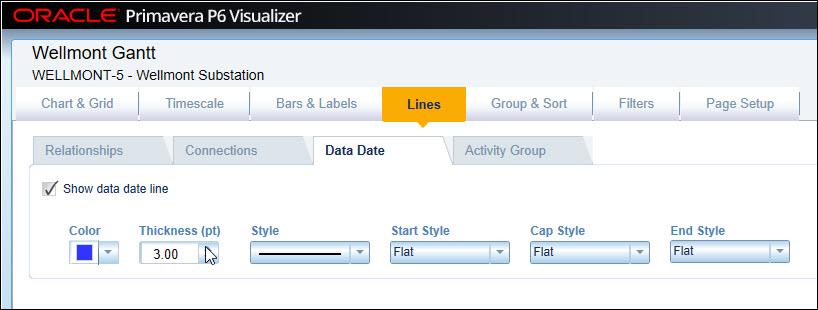 Visualizer Presentation options
