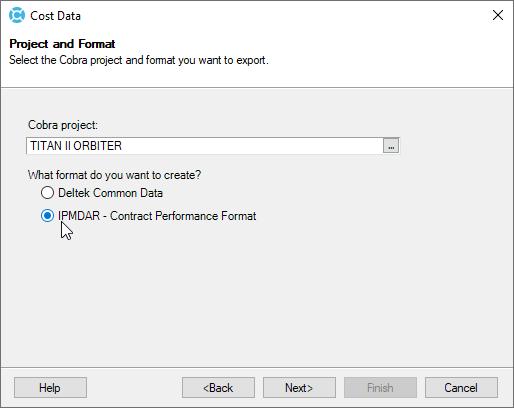 Export IPMDAR format