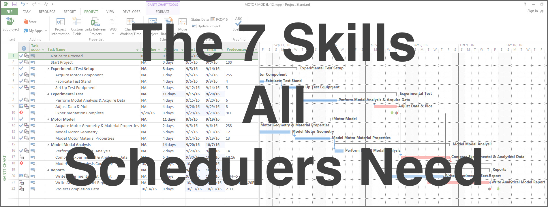 Skills All Schedulers Need